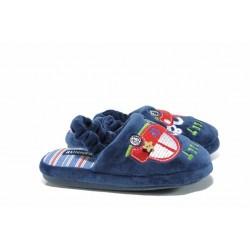 Анатомични детски домашни чехли РС 1601173 син кола 30/35 | Домашни чехли и пантофи | MES.BG
