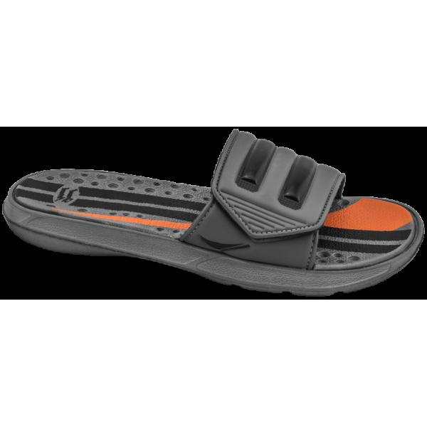 Мъжки чехли с лепенка ГК 30134-1 сив | Мъжки джапанки | MES.BG