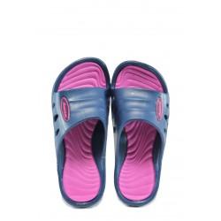 Детски джапанки АБ 160420 син-циклама 31/36 | Детски гумени чехли | MES.BG