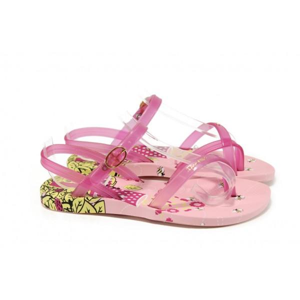 Анатомични детски бразилски сандали Ipanema 81930 розов 25/30 | Бразилски чехли и сандали | MES.BG