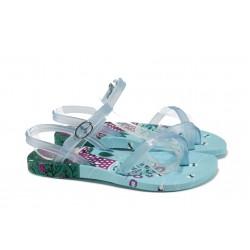 Анатомични детски бразилски сандали Ipanema 81930 св.син 25/30 | Бразилски чехли и сандали | MES.BG