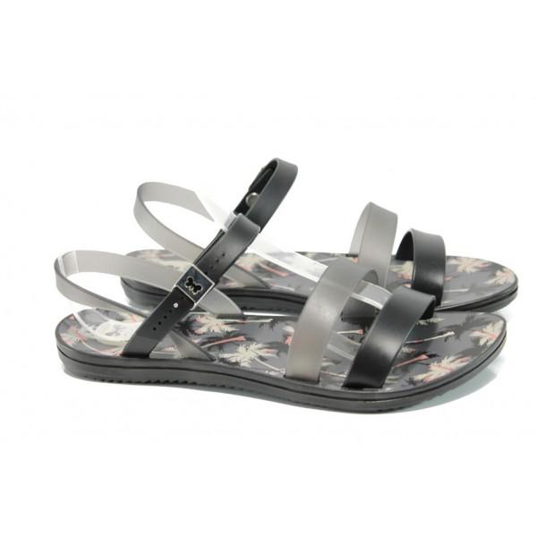 Анатомични дамски сандали Zaxy 82061 черен | Бразилски чехли и сандали | MES.BG