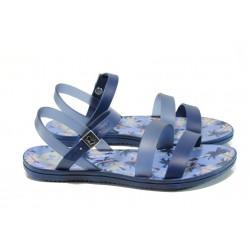 Анатомични дамски сандали Zaxy 82061 син | Бразилски чехли и сандали | MES.BG