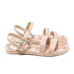 Анатомични дамски сандали Zaxy 82061 розов | Бразилски чехли и сандали | MES.BG