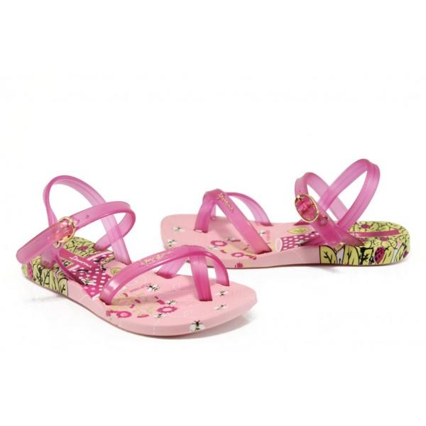 Анатомични детски бразилски сандали Ipanema 81930 розов 31/35 | Бразилски чехли и сандали | MES.BG