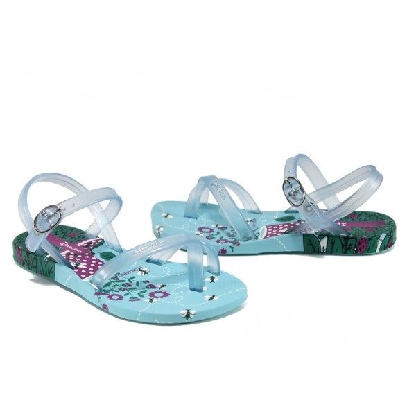 Анатомични детски бразилски сандали Ipanema 81930 син 31/35 | Бразилски чехли и сандали | MES.BG