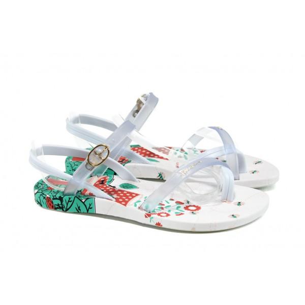 Анатомични детски сандали Ipanema 81930 бял 31/35   Бразилски чехли и сандали   MES.BG
