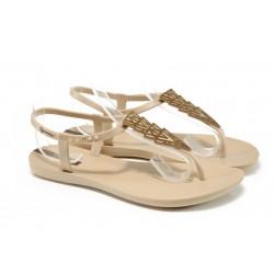 Дамски сандали Ipanema 81932 бежов | Бразилски чехли и сандали | MES.BG