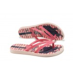 Детски равни чехли Ipanema 82035 розов 25/34 | Бразилски чехли и сандали | MES.BG