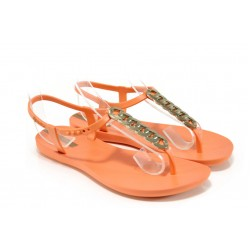 Дамски сандали Ipanema 81932 оранжев | Бразилски чехли и сандали | MES.BG