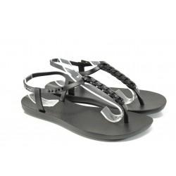 Дамски сандали Ipanema 81932 черен | Бразилски чехли и сандали | MES.BG