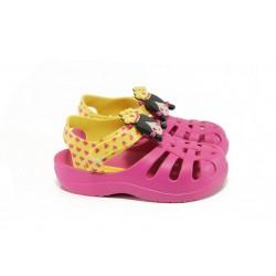 Детски сандали с лепенка Grendha 81948 розов-жълт 19/29 | Бразилски чехли и сандали | MES.BG
