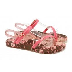 Анатомични дамски сандали Ipanema 81929 розов | Бразилски чехли и сандали | MES.BG