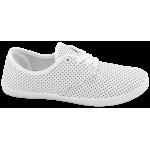 Дамски платненки с връзки ГК 30104-4 бял | Дамски маратонки | MES.BG