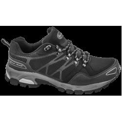 Дишащи мъжки маратонки с класическо ходило ГК 30191-1 черен-сив | Летни мъжки маратонки | MES.BG