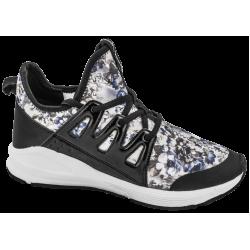 Дишащи дамски маратонки с мемори пяна ГК 30200-1 черен | Летни дамски маратонки | MES.BG