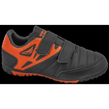 Летни детски маратонки с лепенки ГК 30208-1 черен-оранж 30/35   Детски маратонки   MES.BG
