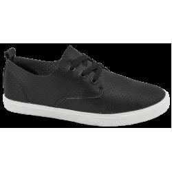 Мъжки кожени спортни обувки ГК 30210-1 черен | Мъжки ежедневни обувки | MES.BG