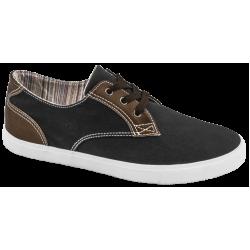 Мъжки спортни обувки с връзки ГК 30211-1 черен | Мъжки ежедневни обувки | MES.BG