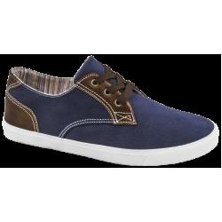 Мъжки спортни обувки с връзки ГК 30211-2 син | Мъжки ежедневни обувки | MES.BG