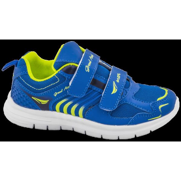 Летни детски маратонки с лепенки ГК 30215-1 син 25/30 | Детски маратонки | MES.BG
