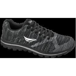 Дишащи мъжки маратонки ГК 30232-1 черен | Летни мъжки маратонки | MES.BG