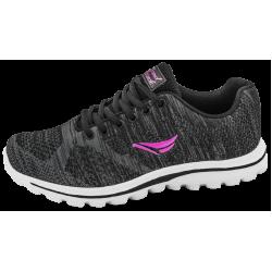Дишащи дамски маратонки ГК 30233-1 черен | Летни дамски маратонки | MES.BG