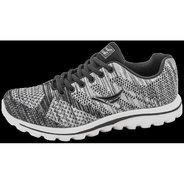 Дишащи дамски маратонки ГК 30233-2 сив | Летни дамски маратонки | MES.BG