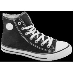Юношески високи кецове ГК 3667-1 черен | Дамски маратонки | MES.BG