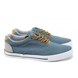 Мъжки спортни обувки АБ 17-10А син | Мъжки ежедневни обувки | MES.BG