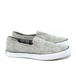 Мъжки спортни обувки АБ 17-09 св.сив | Мъжки ежедневни обувки | MES.BG