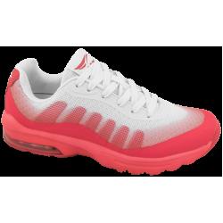 Летни дамски маратонки с въздушна камера ГК 30226-2 бял-корал | Летни маратонки | MES.BG