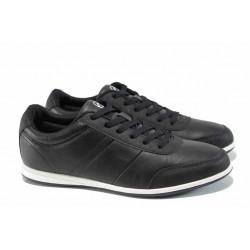 Мъжки спортни обувки Runners 172-16537 черен | Мъжки ежедневни обувки | MES.BG