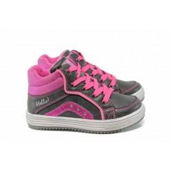 Детски кецове АБ 805503 черен-розов 25/30 | Детски маратонки и кецове | MES.BG
