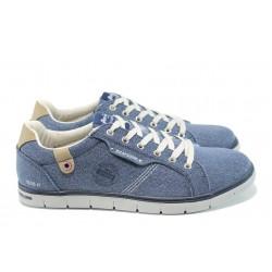 Мъжки спортни обувки АБ 604074 син | Мъжки ежедневни обувки | MES.BG