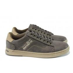 Мъжки спортни обувки АБ 510201 кафяв | Мъжки обувки | MES.BG