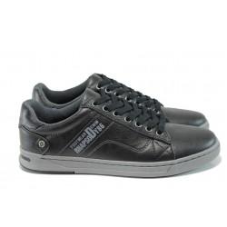 Мъжки спортни обувки АБ 510201 черен | Мъжки обувки | MES.BG
