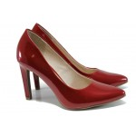 Елегантни дамски обувки Marco Tozzi 2-22415-28 червен | Немски обувки на ток | MES.BG