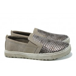 Равни дамски обувки Jana 8-24660-28Н таупе | Равни немски обувки | MES.BG