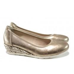 Дамски обувки на платформа Jana 8-22363-28Н злато | Немски обувки на ток | MES.BG
