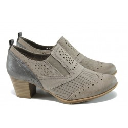 Дамски обувки на ток Jana 8-24367-28H таупе | Немски обувки на ток | MES.BG