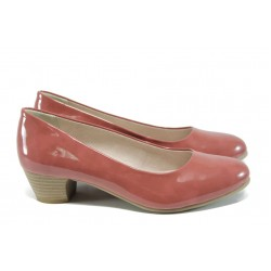 Дамски обувки на ток Jana 8-22360-28Н пепел от рози | Немски обувки на ток | MES.BG
