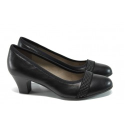 Дамски обувки на ток Jana 8-22464-28Н черен | Немски обувки на ток | MES.BG