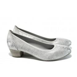 Дамски обувки на ток Jana 8-22361-28Н сребро | Немски обувки на ток | MES.BG