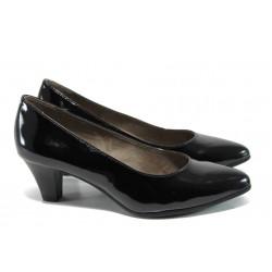Дамски обувки на ток Jana 8-22466-28Н черен | Немски обувки на ток | MES.BG