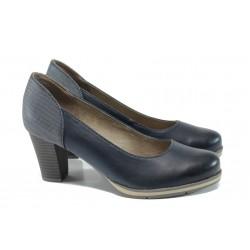 Дамски обувки на висок ток Jana 8-22461-28Н т.син | Немски обувки на ток | MES.BG