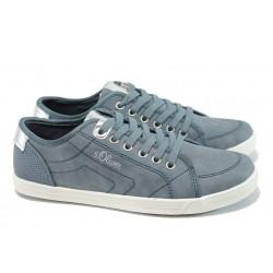 Юношески спортни обувки с мемори пяна S.Oliver 5-23631-28 син | Равни немски обувки | MES.BG