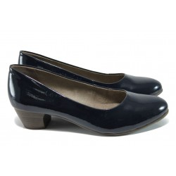 Дамски обувки на ток Jana 8-22360-28Н т.син | Немски обувки на ток | MES.BG