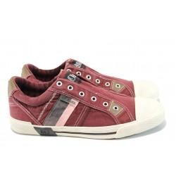 Мъжки спортни обувки S.Oliver 5-14600-28 бордо | Мъжки немски обувки | MES.BG