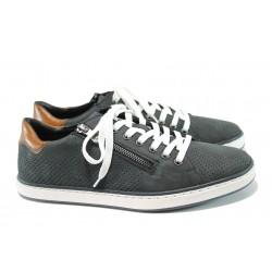 Мъжки спортни обувки Rieker 19627-14 т.син | Мъжки немски обувки | MES.BG
